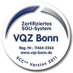 Zertifiziertes SGU-System SCC** Version 2011