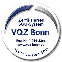 Zertifiziertes SGU-System SCC** Version 2001