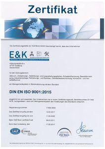 VQZ Bonn EKTDL ISO 9001